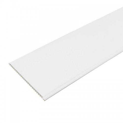 Панель ПВХ 3000х250х8мм Белая матовая (уп=10шт=7,5м2)