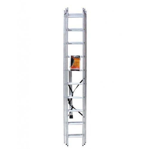 Лестница алюминиевая трёхсекционная ЛА 3х10 Вихрь