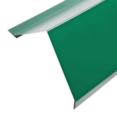 Карнизная Планка для Металлочерепицы Стандарт Полиэстер (RAL 6005) зеленый мох) 2м.