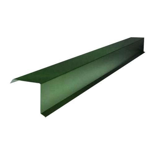 Планка Торцевая для Профлиста  (RAL 6005) зеленый мох (2 м)