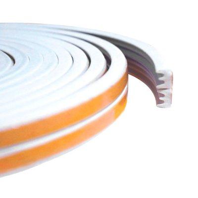 Уплотнитель тип Е белый, сдвоенный, 1 пог.м