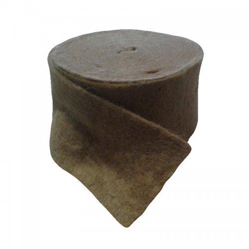 Межвенцовый утеплитель Джут, 4-6 мм, 150 мм, 20 м