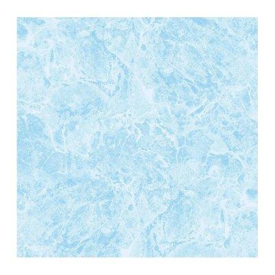 Плитка напольная 345x345x8 мм БКСМ Мрамор синяя