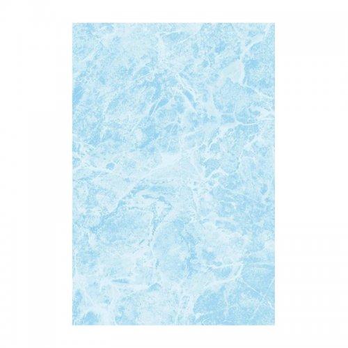 Плитка настенная 200x300x7 мм БКСМ Мрамор светло-синяя