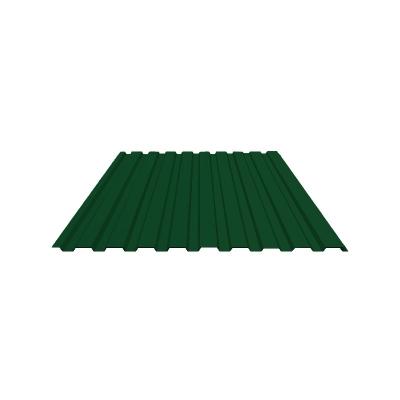 Профнастил С8 1,2х2 м 0,5мм зеленый RAL 6005