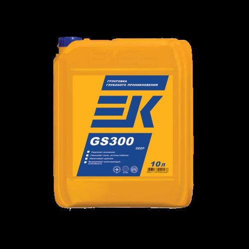 Грунтовка глубокого проникновения ЕК GS300 DEEP (10Л)