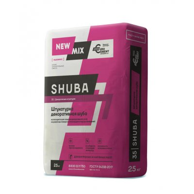 Штукатурка декоративная SHUBA (25кг)