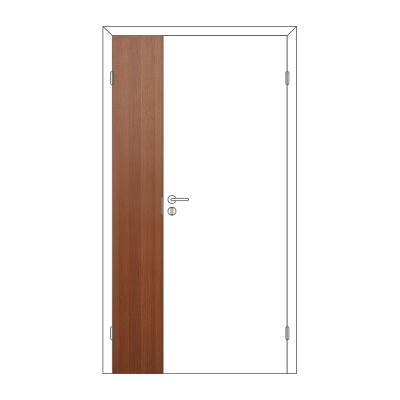 Полотно дверное Олови М3х21 ламинат Орех ответка часть 3D с/п