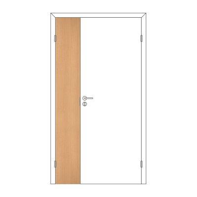 Полотно дверное Олови М3х21 ламинат Бук ответка часть 3D с/п