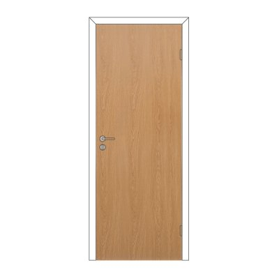 Полотно дверное Олови 3D М9х21 ламинат Дуб