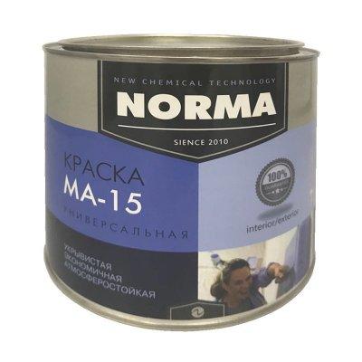 Краска масляная Novocolor МА-15 ГОСТ-71 белая (2 кг)