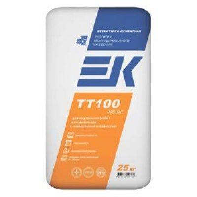 Штукатурка цементная машинного нанесения ЕК TT100 INSIDE (25кг)