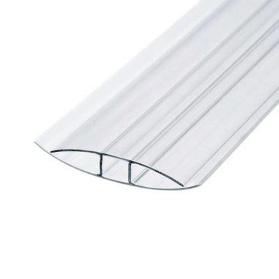 Профиль соединительный неразъемный для поликарбоната 8х6000 мм