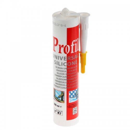 Герметик универсальный силиконовый белый PROFIL 280мл