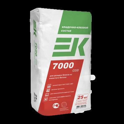 Кладочно-клеевой состав для блоков ЕК 7000 GSB (25кг)