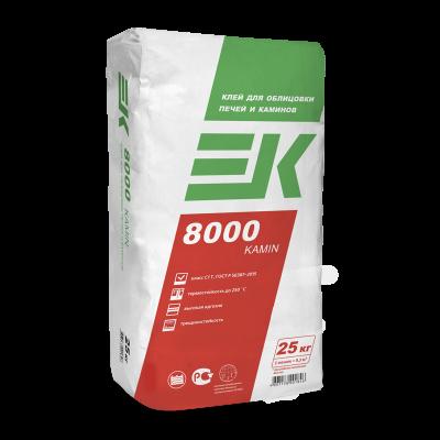 Клей для облицовки печей и каминов ЕК 8000 KAMIN (25кг)