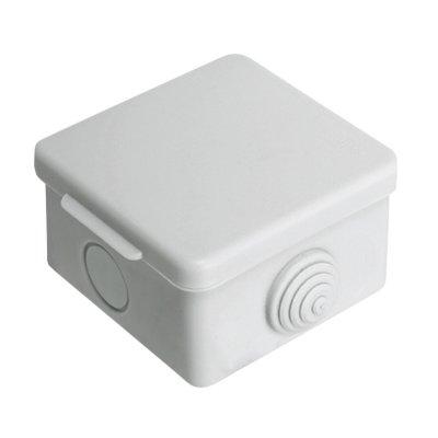 Коробка разветвительная о/у 65(70)х65(70)х50(40)мм, IP44 с гермовводами