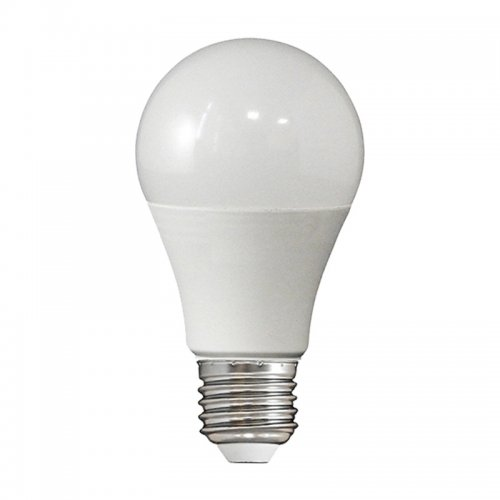 Лампа светодиодная LED E27, груша, 7-7,5Вт, 230В, тепл. белый свет