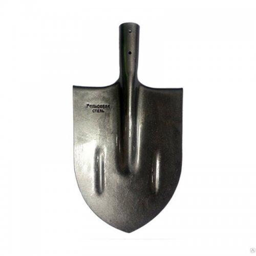 Лопата штыковая усиленная (рельсовая сталь)