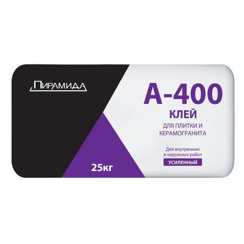 Клей плиточный усиленный А-400 (25кг)