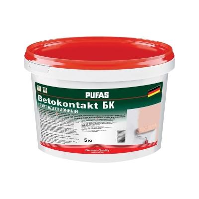 Грунтовка Бетоконтакт БК для внутренних работ (5 кг)