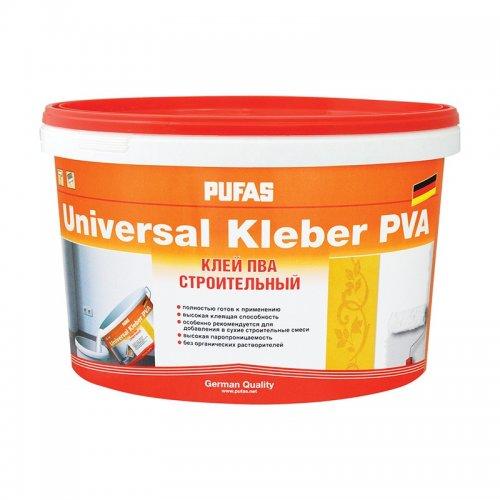 Клей ПВА строительный универсальный (10кг) Pufas