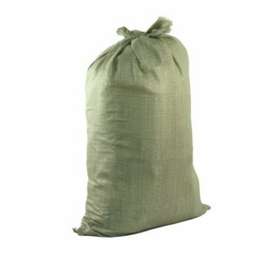 Мешок для строит. мусора полипропиленовый тканный 55х95 см (зеленый)