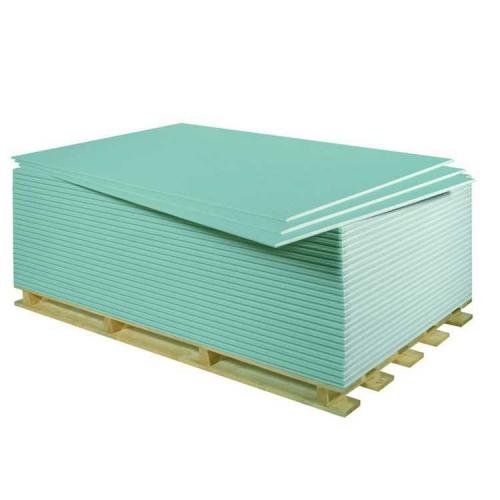Гипсокартон влагостойкий (ГКЛВ) 2500х1200х9,5мм