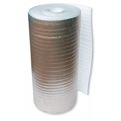 Вспененный полиэтилен фольгированный 10мм 1м2